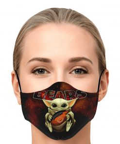 Chicago Bears Covid Mask