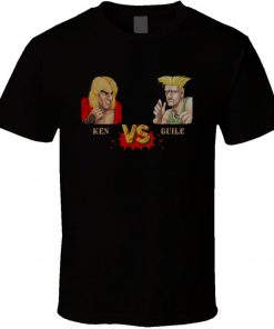 Street Fighter Guile T Shirt